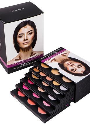 Набор палитр для макияжа shany mini masterpiece makeup kit
