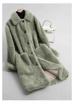 Модная шуба - натуральная овчина