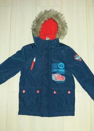 Куртка зимняя lightning mcqueen c&a