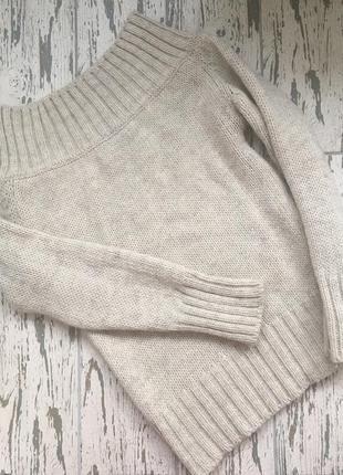 Супер тёплый и стильный свитер zara