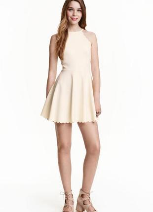Трикотажное платье h&m 419078