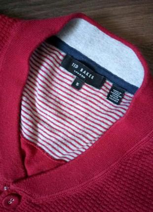 Мужской стильный свитер ted baker