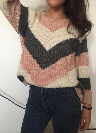 Нереальный свитер в пастельных цветах2