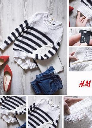 Полосатый свитерок h&m