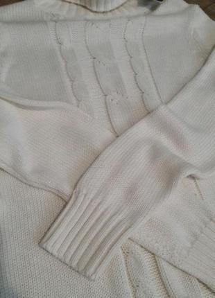 Крутое вязаное платье esmara2