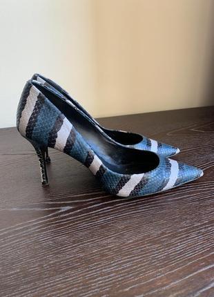 Uterque туфли лодочки кожаные uterqüe