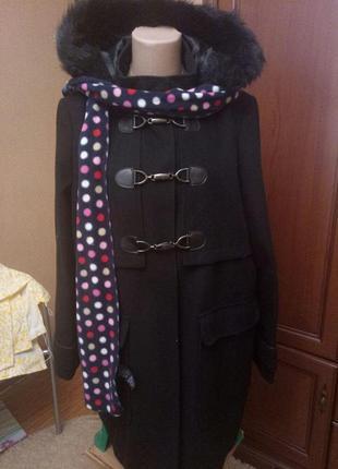 Красивенное пальто от dorothy perkins в прекрасном состоянии, 18 размер