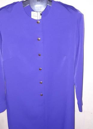 Стильное платье миди цвет фиолетовый, вайлет цвет 2018г