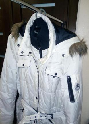 Куртка удлинённая фирма reserved