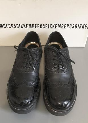Dirk bikkembergs броги оксфорды туфли