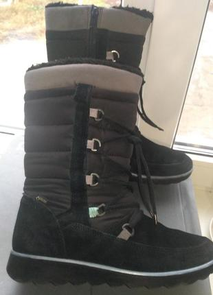 Сапоги ботинки ecco aspen gore-tex р38