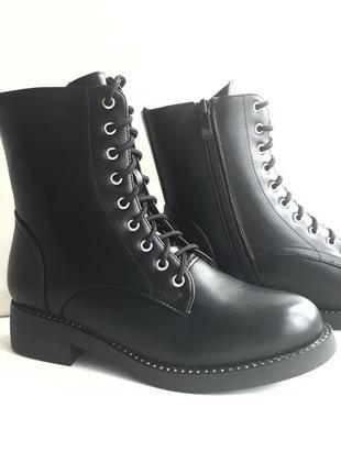 Акція! жіночі зимові напівчобітки (полусапожки, ботинки) розмір 36, 37.5