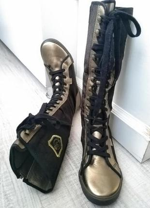 Спортшик сапоги pepe jeans 24.5 см шнуровка