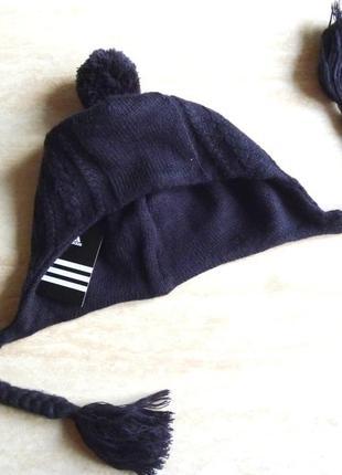 Шапка adidas женская / мужская зимняя