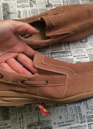Кожаные туфли atlas 45 р