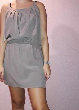 Повседневное летнее платье-сарафан