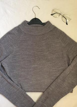 Джемпер свитер с горлом