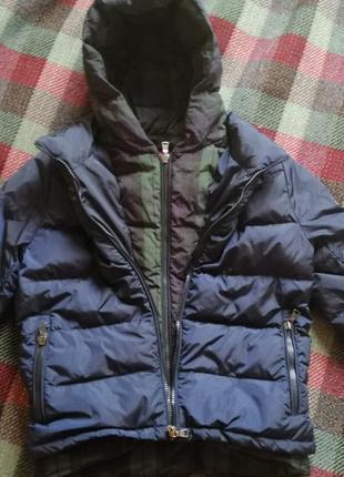Moncler пуховая, зимняя куртка для мальчика 10 лет