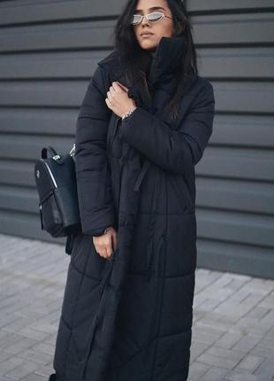 Зимнее одеяло пуховик