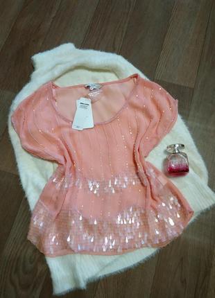 Зефирная блуза от  new look