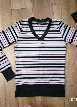 Трикотажная кофта пуловер