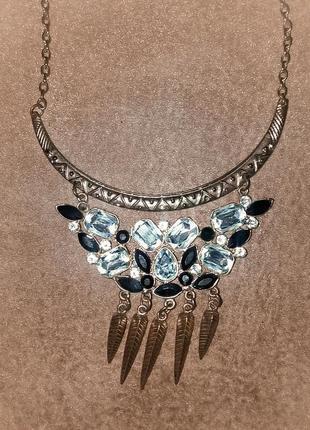 Украшение на шею, колье, подвеска, ожерелье