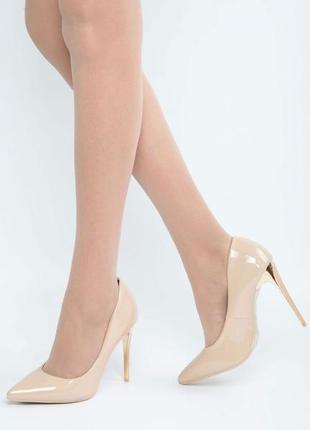Туфли на шпильке, лаковые туфли, туфли лодочки
