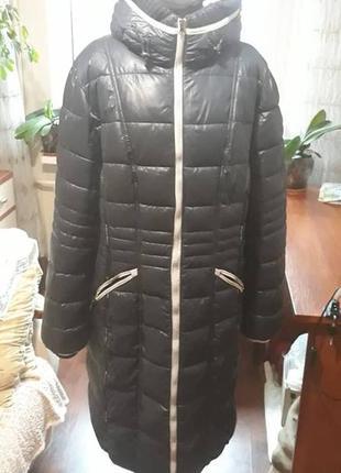 Зимний пуховичёк - пальто