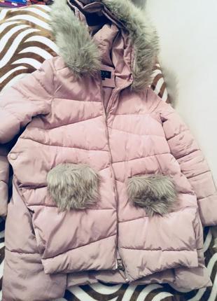 Зимняя куртка , пуховик