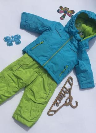 Комбинезон и куртка зимняя германия 74-80 рост
