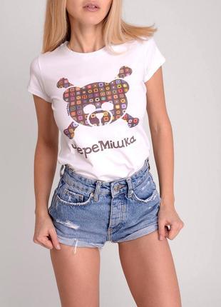 Sale. дизайнерская футболка от tanya prince. черемішка.