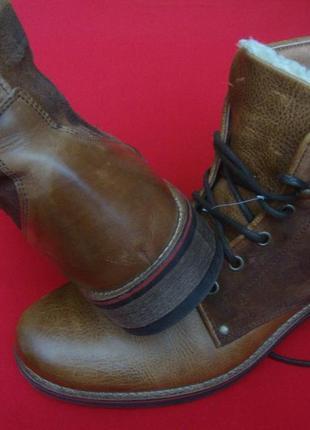 Зимние ботинки  новые 28см.