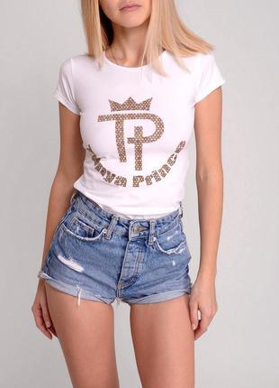 Sale. дизайнерская футболка от tanya prince, с логотипом