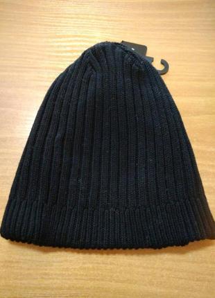 Новая мужская шапка, в наличии, фирма c&a, хлопок 100%