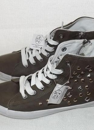 Ботинки alive кеды 37 размер 24 см стелька