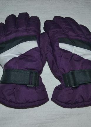 Зимние перчатки краги thinsulate insulation 40gr.crivit