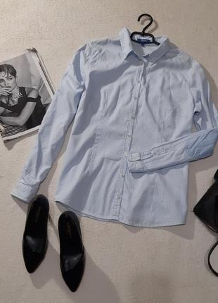 Стильная котоновая рубашка. размер xxl