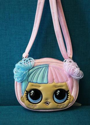 Есть варианты! невероятно крутая сумка на плече и пояс кукла лол куколка lol сумочка