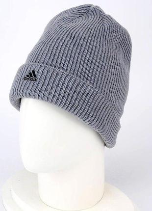 Шапка мужская adidas r winter woolie p47414 серая
