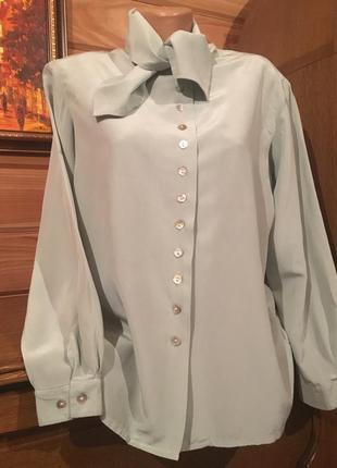 Garat peter hahn- шелковая блуза100% шелк