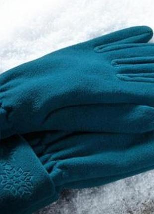 Термо перчатки женские флисовые tcm tchibo германия