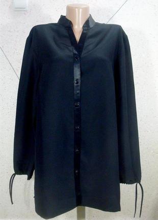 Роскошная плотная блуза большой размер1
