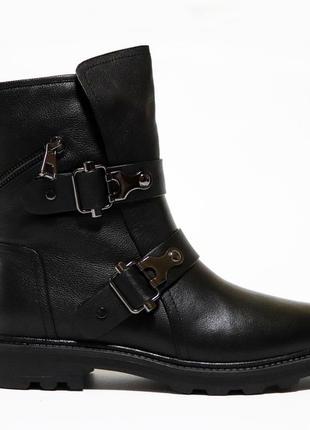 Зимние ботинки respect оригинал. натуральная кожа, цигейка 35-40