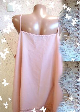 Шикарная блузочка в бельевом цвета чайной розы большой размер2