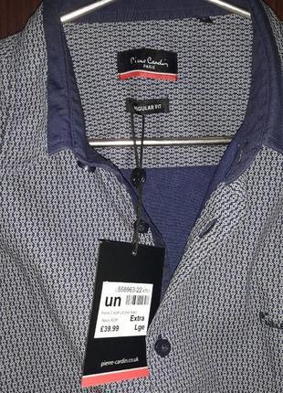 Рубашка pierre cardin aop long sleeve с длинным рукавом