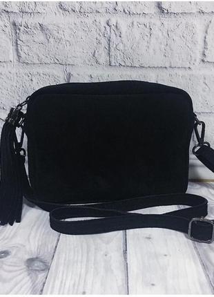 Отличная замшевая сумочка