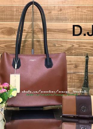 Женская сумка david jones cm3621 (3 цвета), цена - 470 грн,  7666955 ... 052cf848454