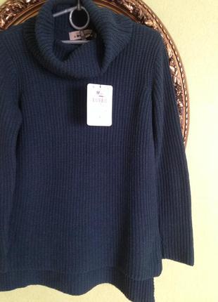 Шикарный свитер шерсть ангора с биркой bershka