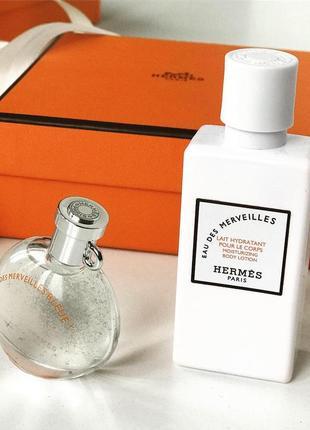 Hermes оригинал ☝🏻 подарочный набор🎁 лосьон для тела и парфюм