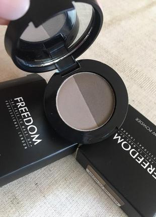 Тени для бровей freedom makeup